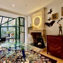 Bordeaux, quartier Jardin-Public - Paul Doumer, belle maison en pierre, garage, jardin, 4 chambres, rénovée en 2018, climatisation